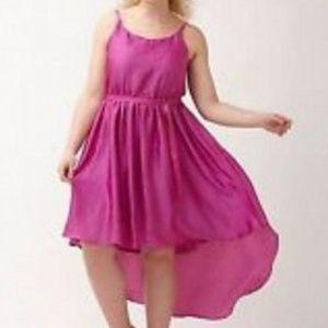 Lane Bryant Satin Hi Lo Slip Dress Stretch Size 18